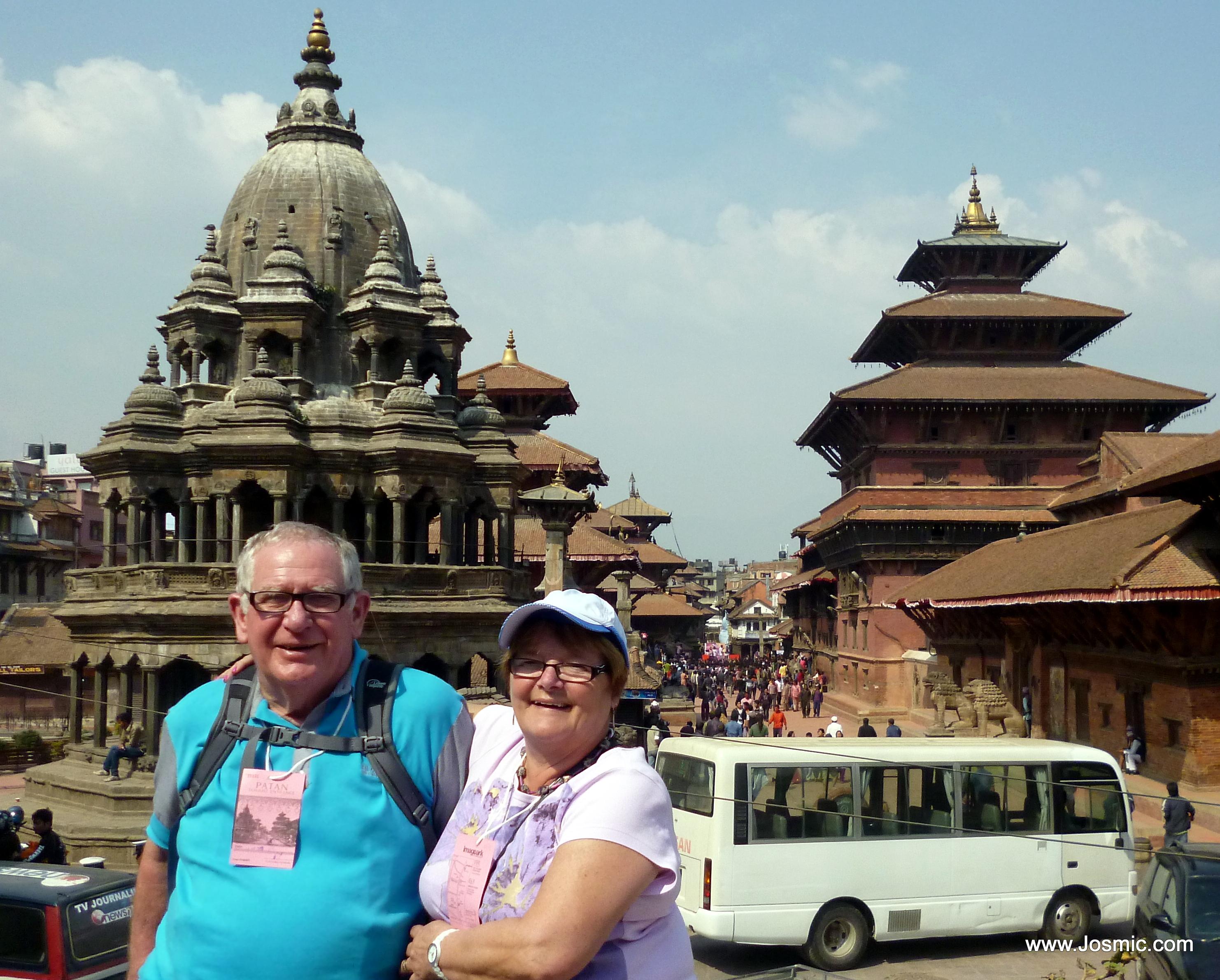 At Patan Durbar Square