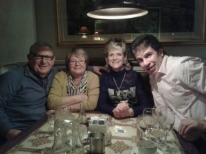 With John & Catherine at the Bianconi