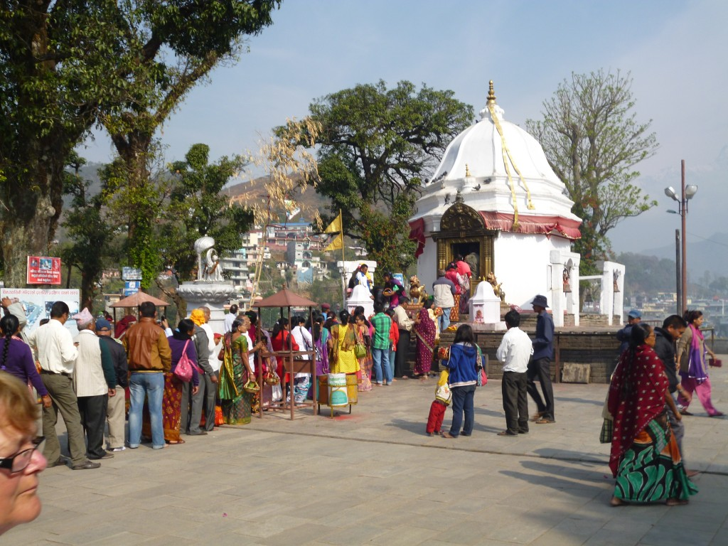 Pokhara Hindu shrine