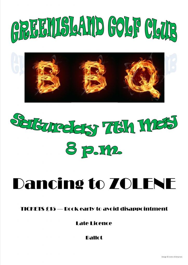 BBQ Poster May