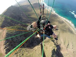 Big drop to Famara