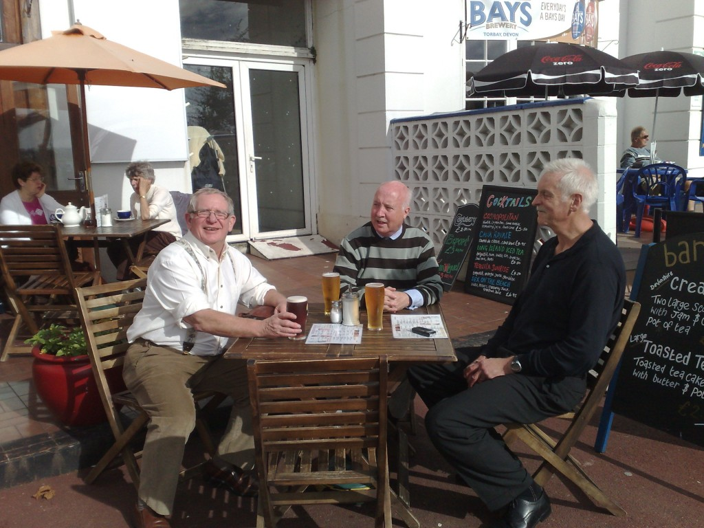 Jacko, Tom McMahon & Jim Malone recover from the AGM