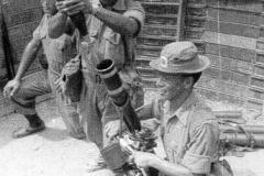 22 Gurkha Mortar practice