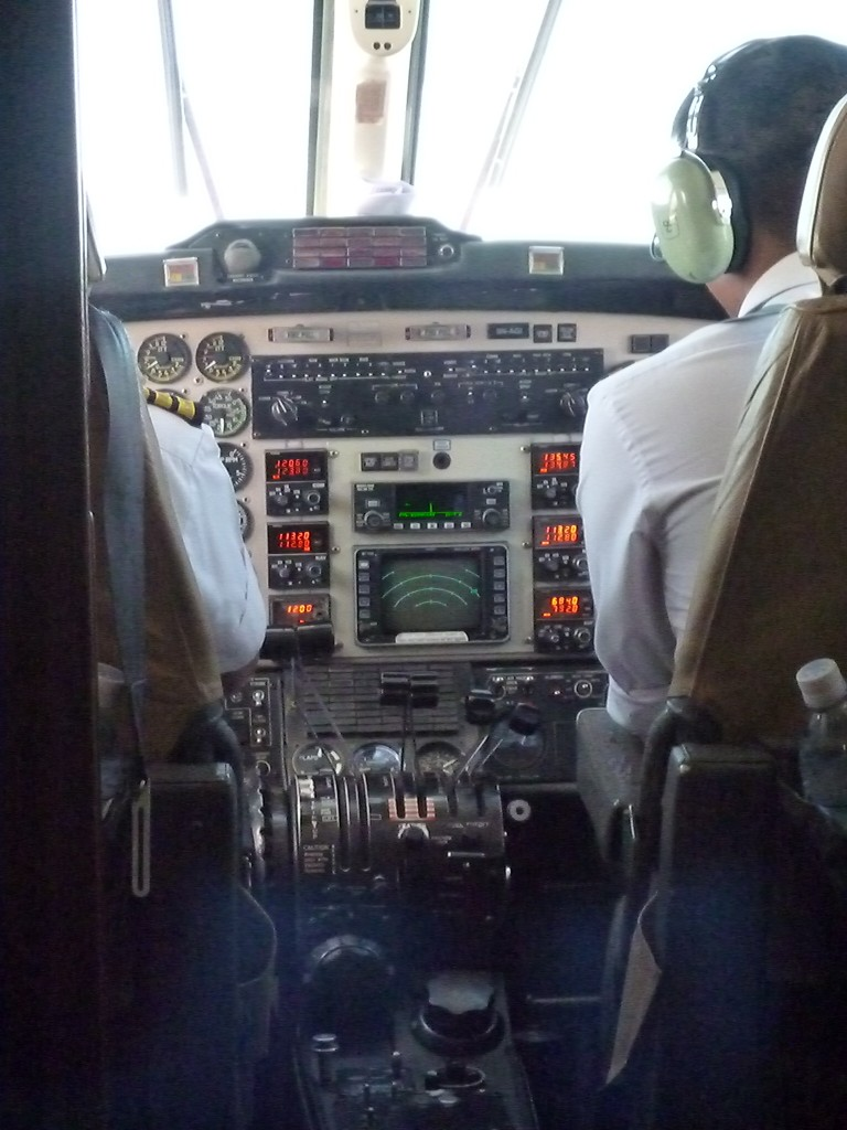 Flight deck - Pokhara here we come