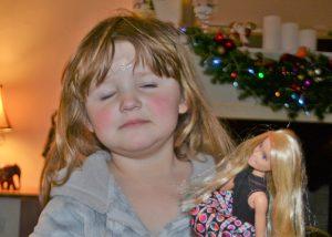 Olivia & barbie